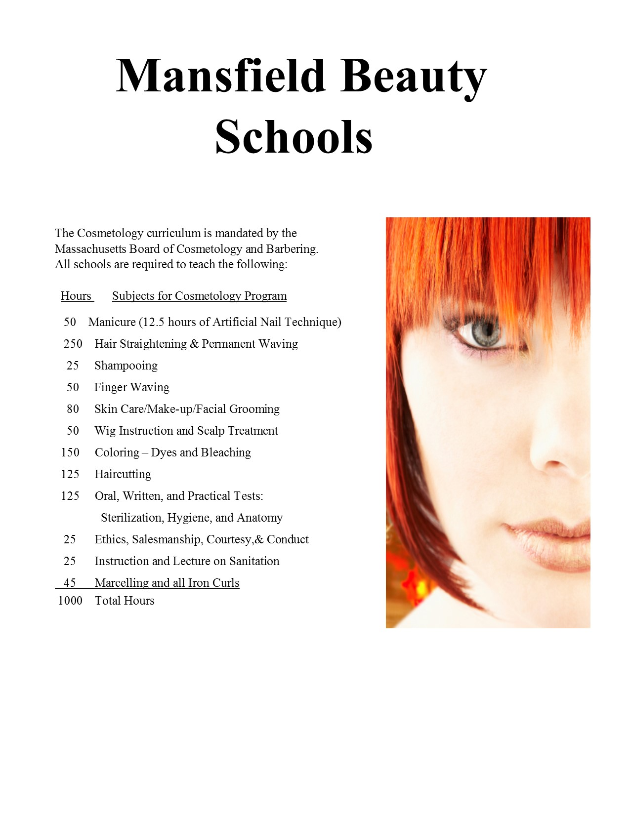 Frequently Asked Questions Beauty, Cosmetology, Boston, Quincy ...